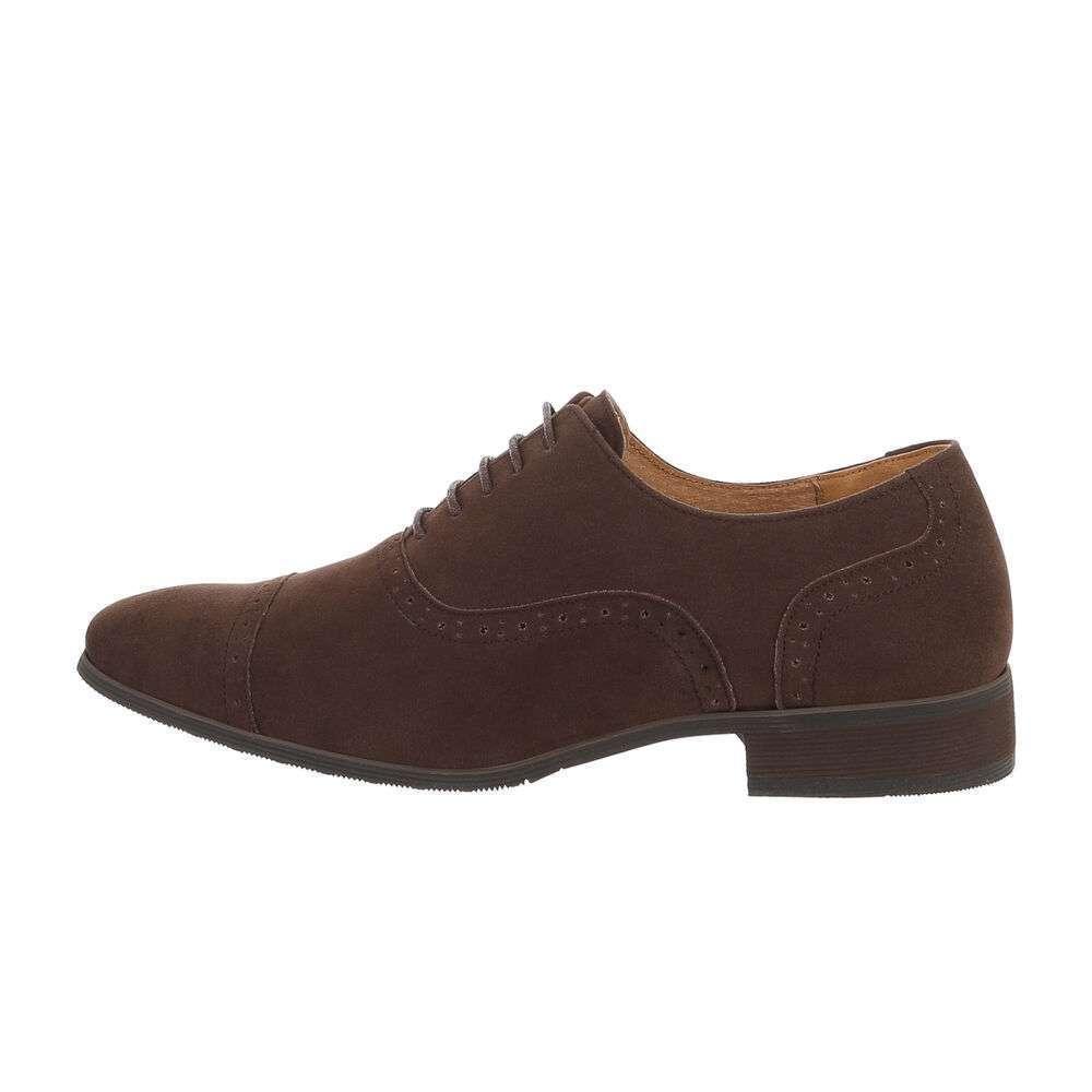 Pantofi de afaceri pentru bărbați - maro
