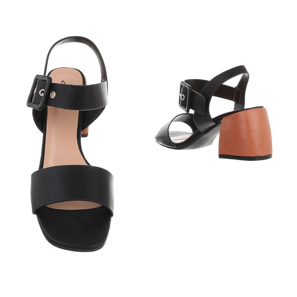 Sandale de dama - negre - image 3