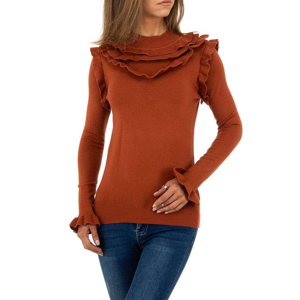 Pulover pentru femei de SHK Paris Gr. O singură mărime - cămilă - image 1