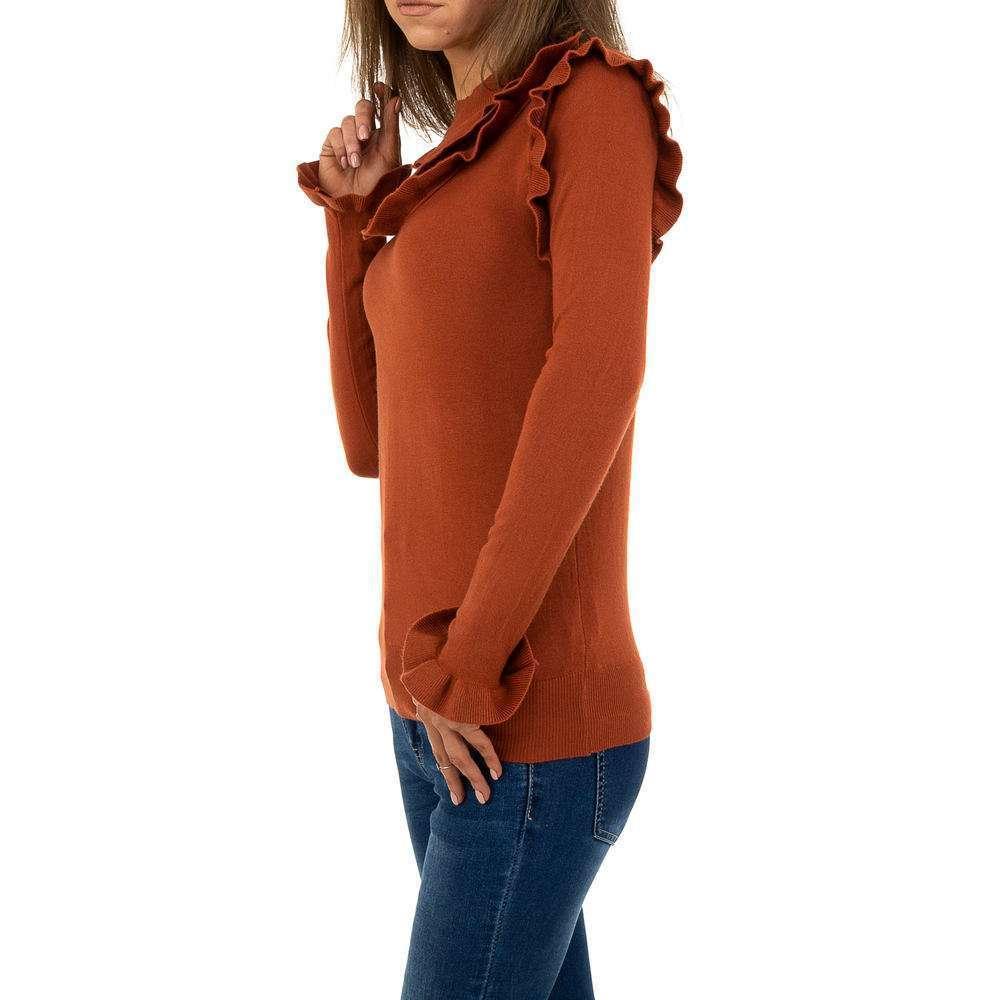 Pulover pentru femei de SHK Paris Gr. O singură mărime - cămilă - image 2