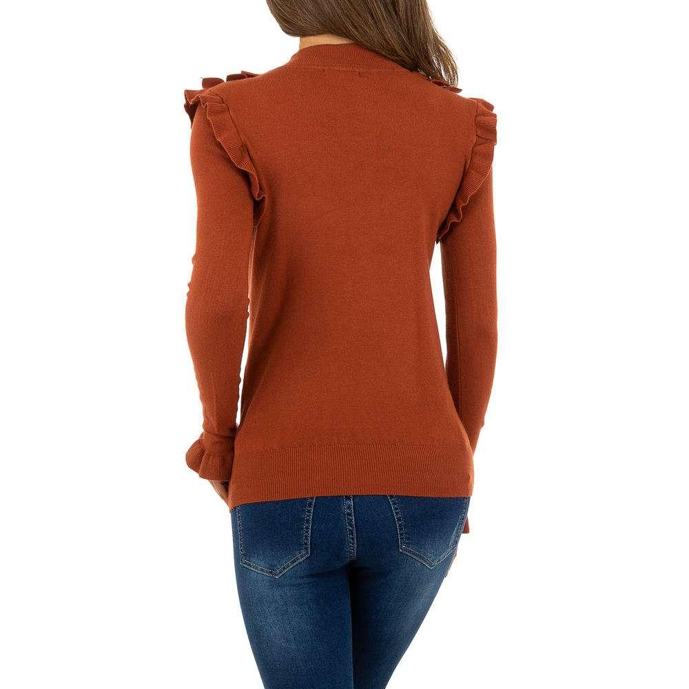 Pulover pentru femei de SHK Paris Gr. O singură mărime - cămilă - image 3