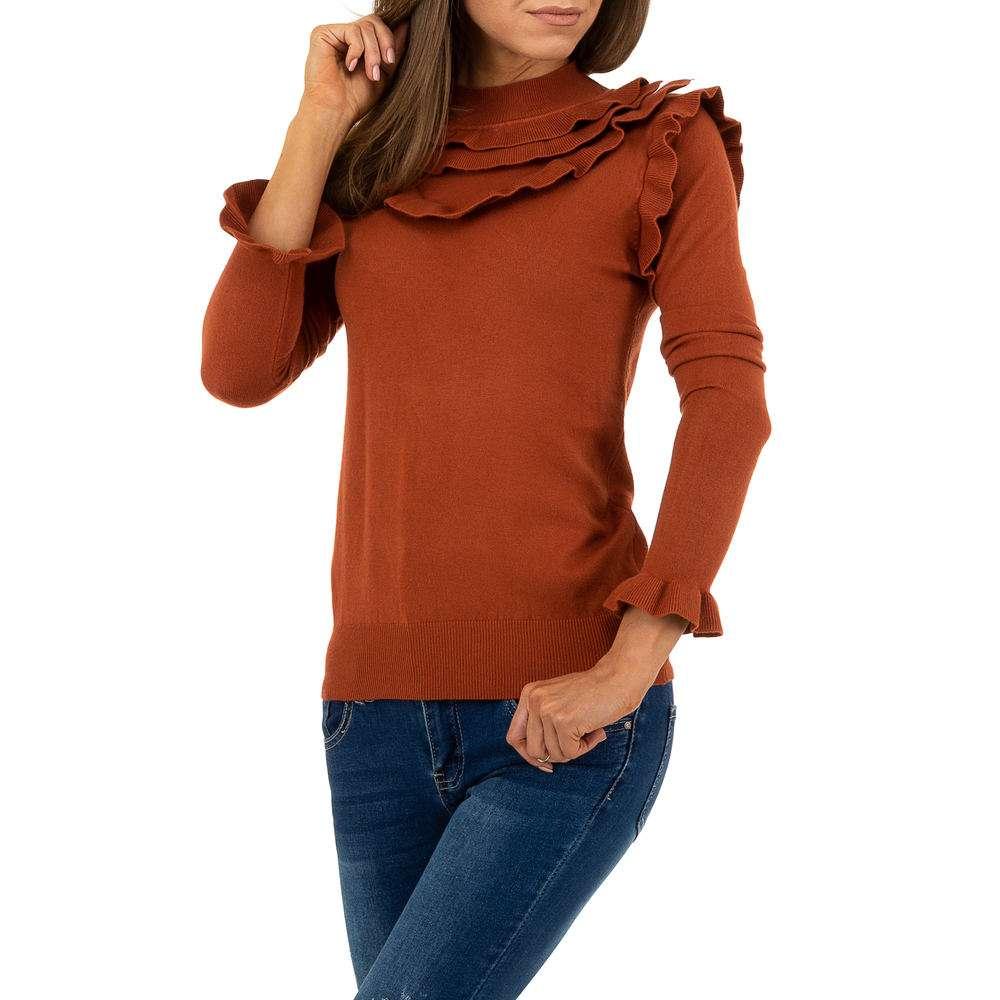 Pulover pentru femei de SHK Paris Gr. O singură mărime - cămilă - image 4
