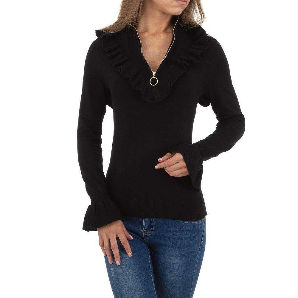 Pulover pentru femei de SHK Paris Gr. O singură mărime - negru - image 5