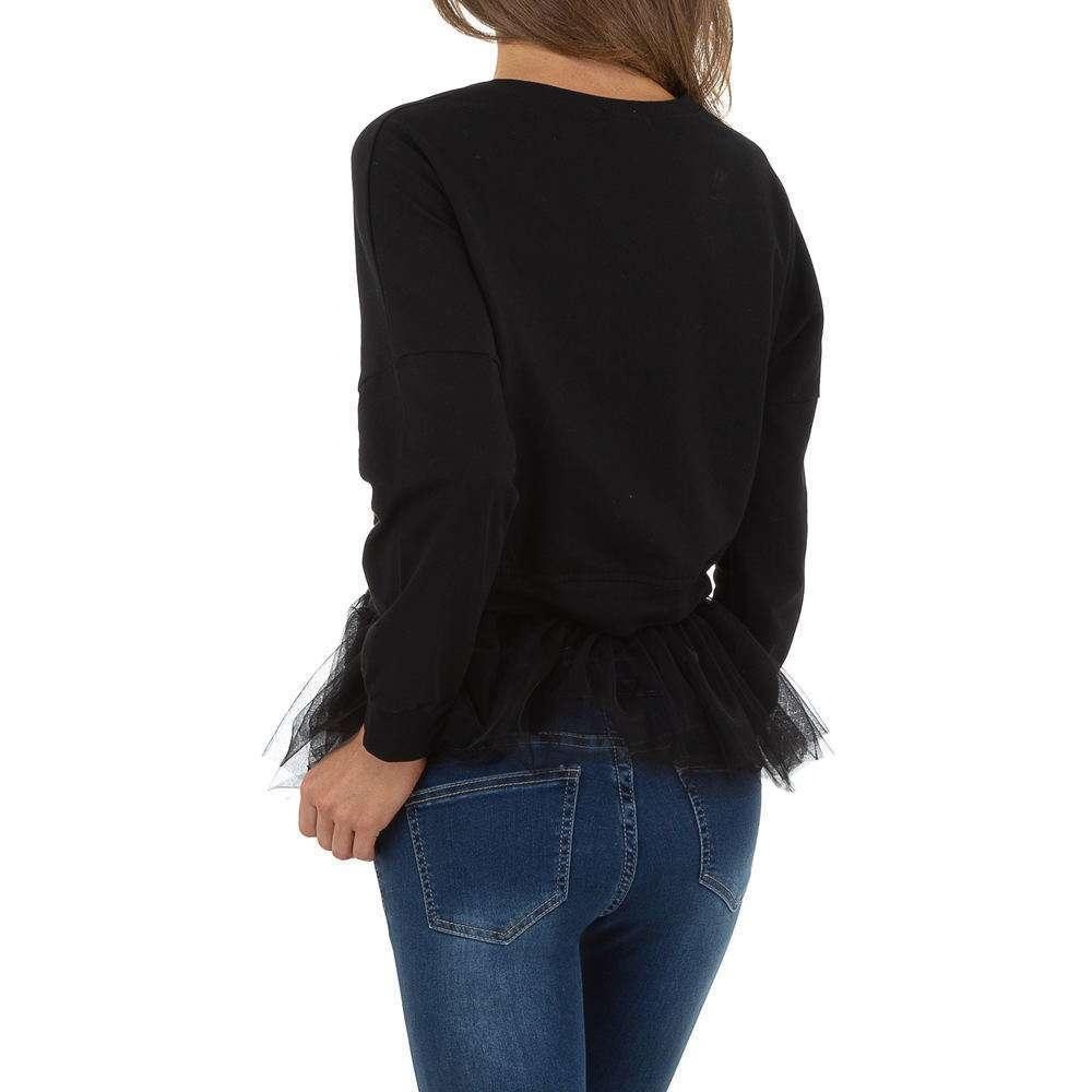 Hanorac pentru femei de SHK Paris - negru - image 3