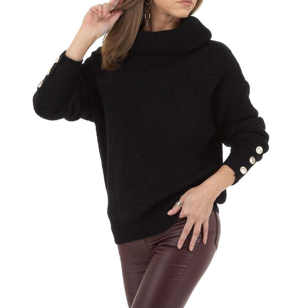 Pulover de dama de Voyelles Gr. O singură mărime - negru - image 1