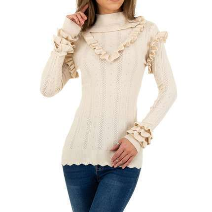 Damen Pullover von Emma&Ashley Design - cream