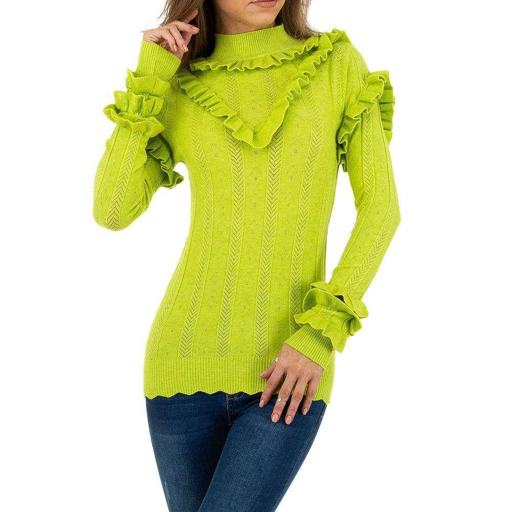 Pulover pentru femei de Emma% 26Ashley Design - verde - image 1