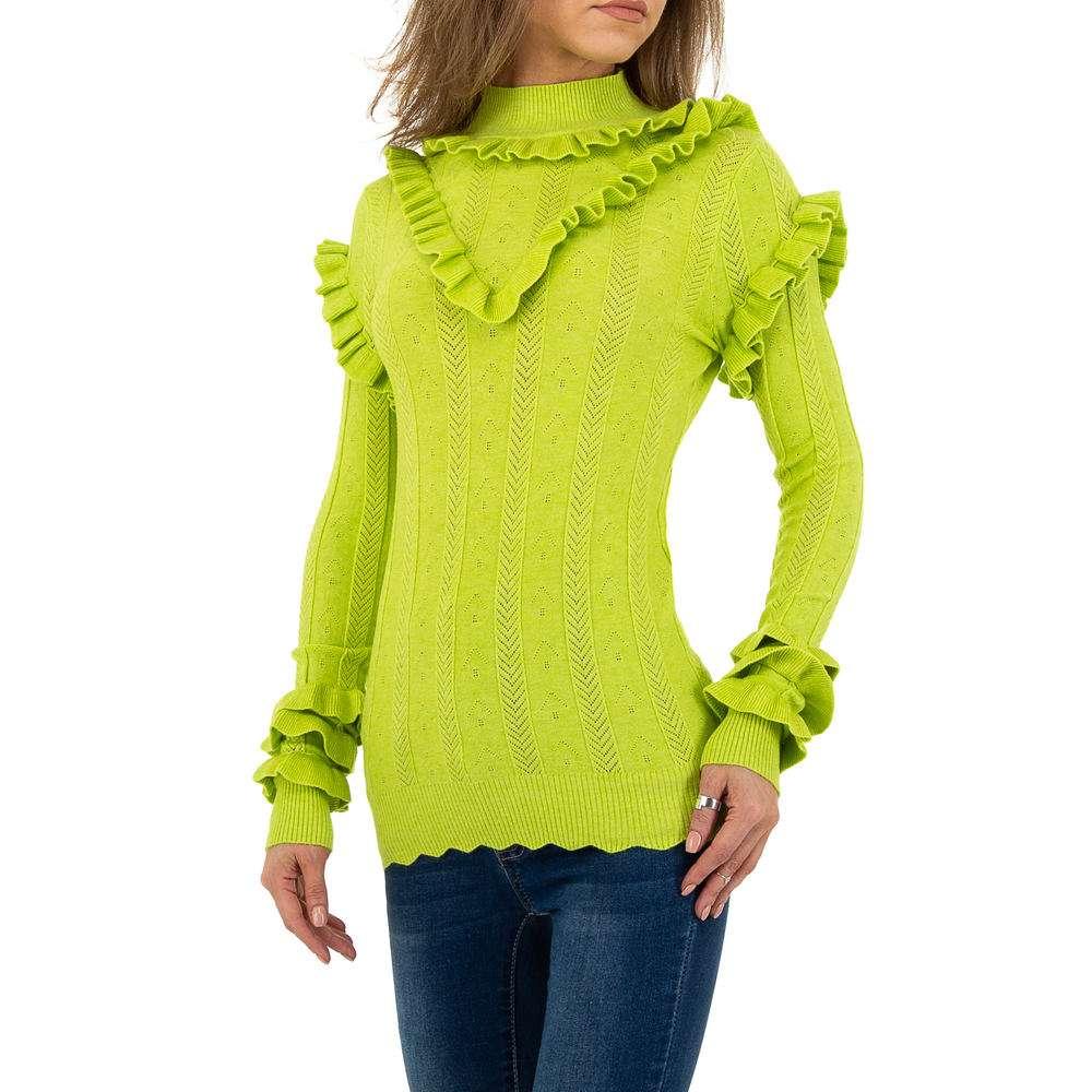 Pulover pentru femei de Emma% 26Ashley Design - verde - image 2
