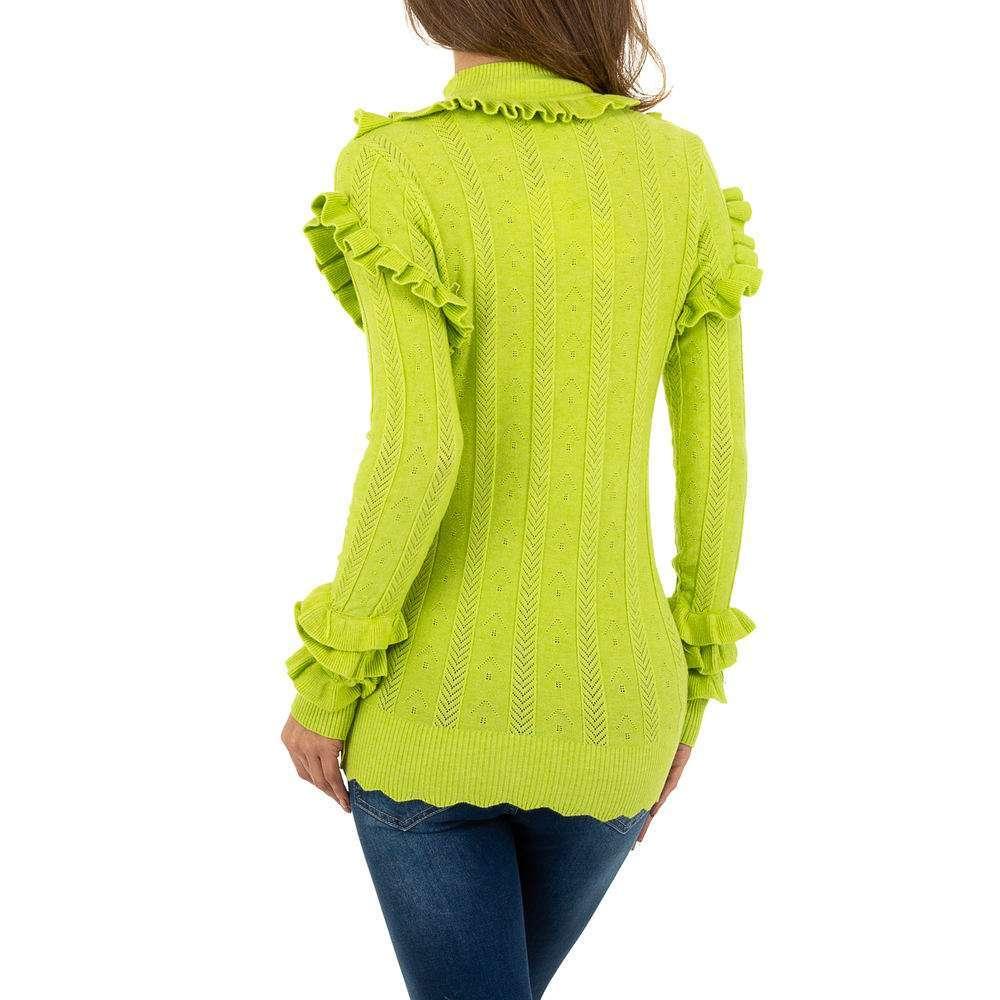 Pulover pentru femei de Emma% 26Ashley Design - verde - image 3
