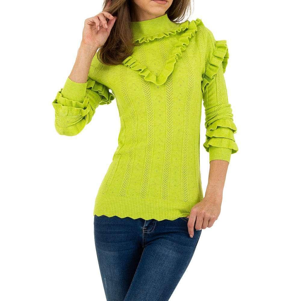 Pulover pentru femei de Emma% 26Ashley Design - verde - image 4