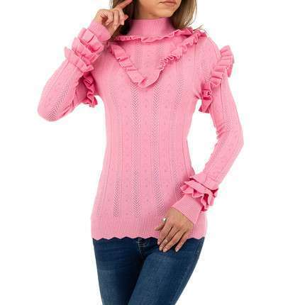 Damen Pullover von Emma&Ashley Design - rose