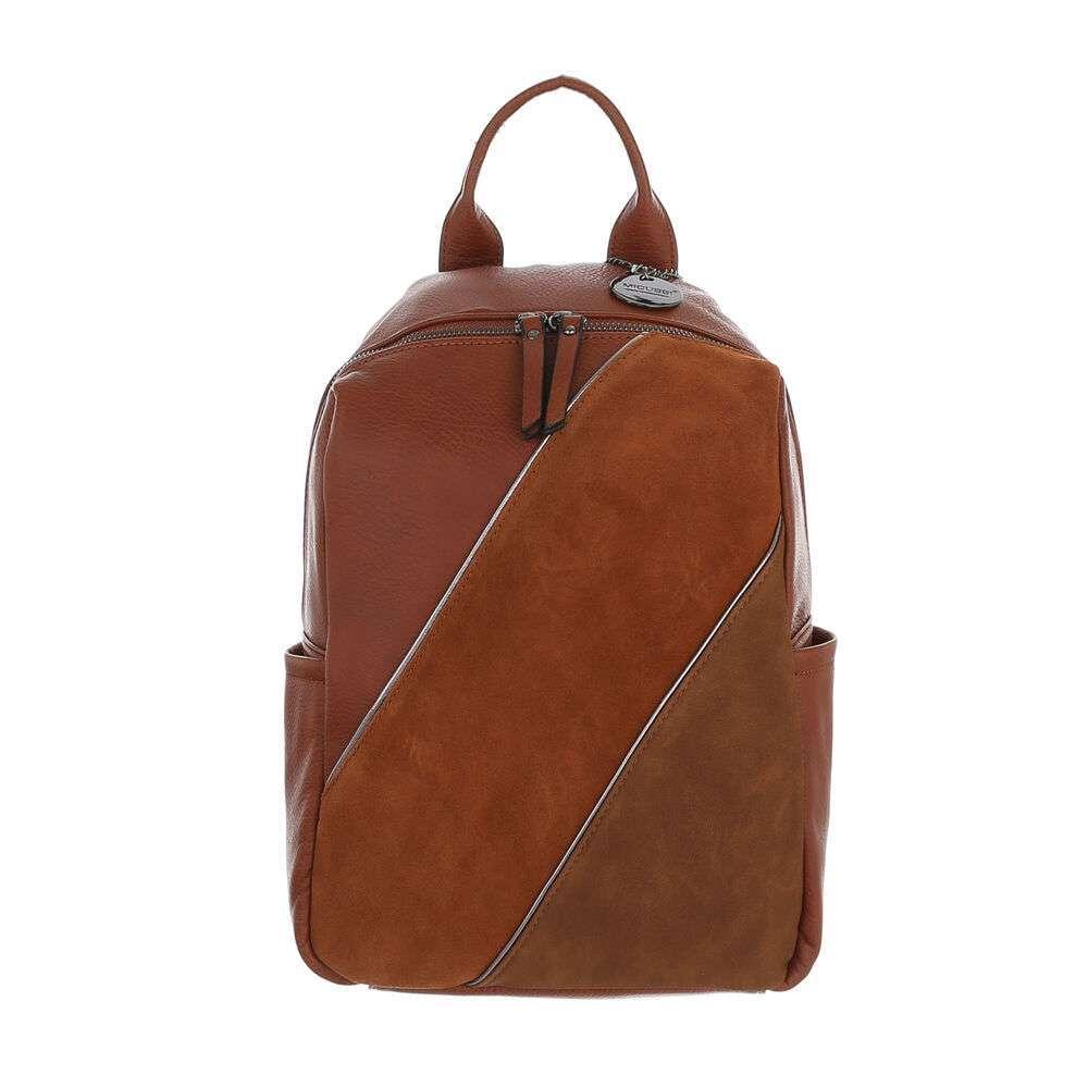 Женский рюкзак - коричневый
