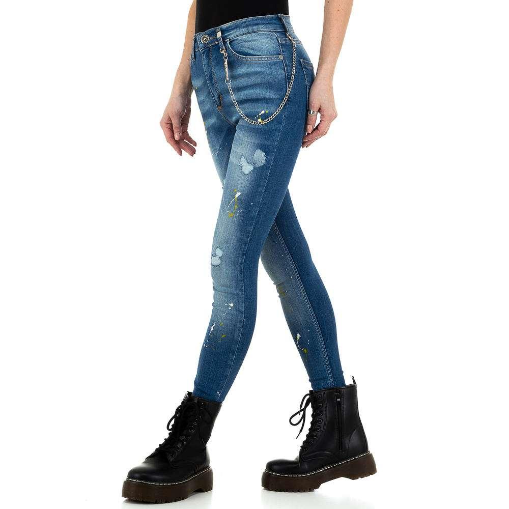 Blugi de dama de la Daysie Jeans - albastru - image 2