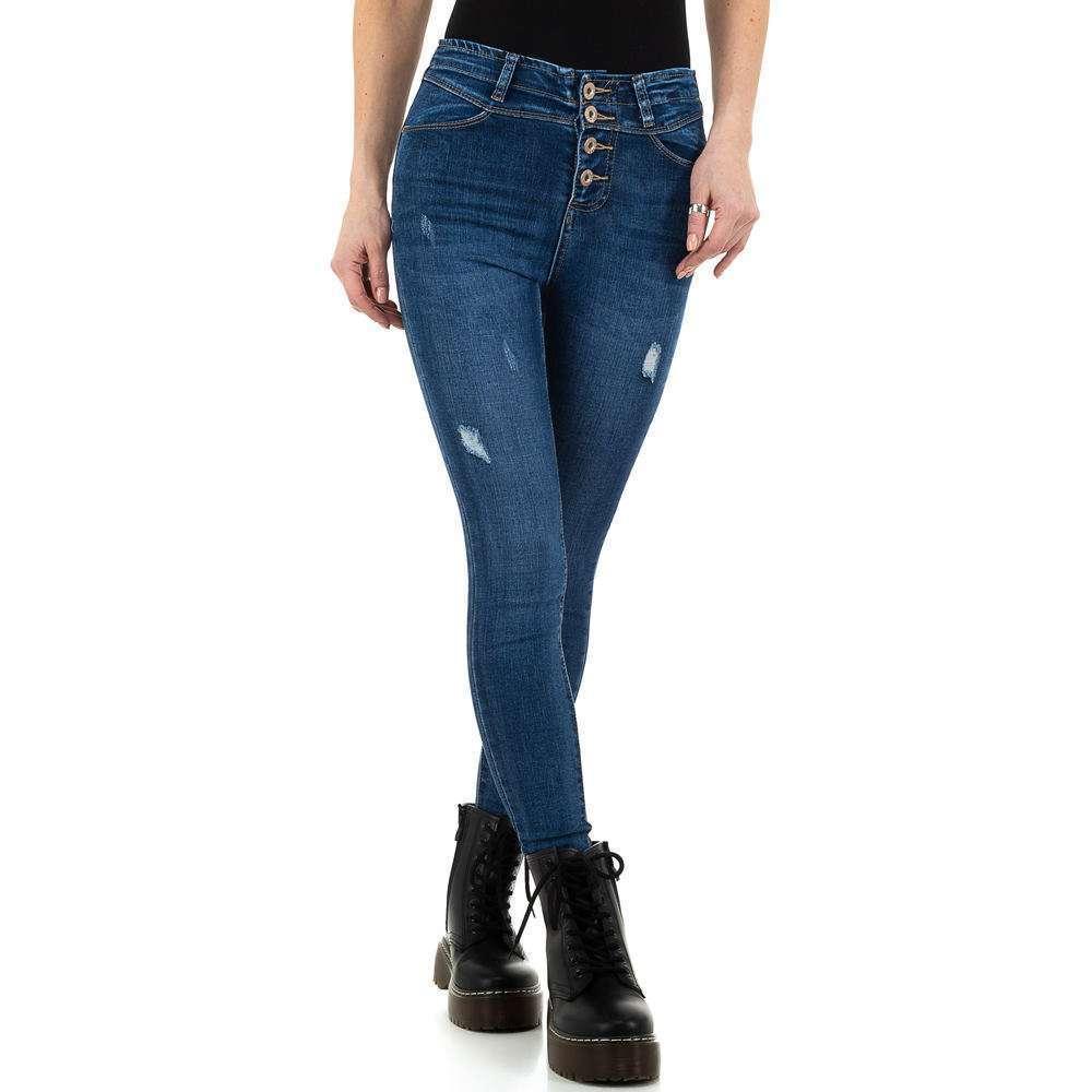 Blugi de dama de la Daysie Jeans - albastru - image 1