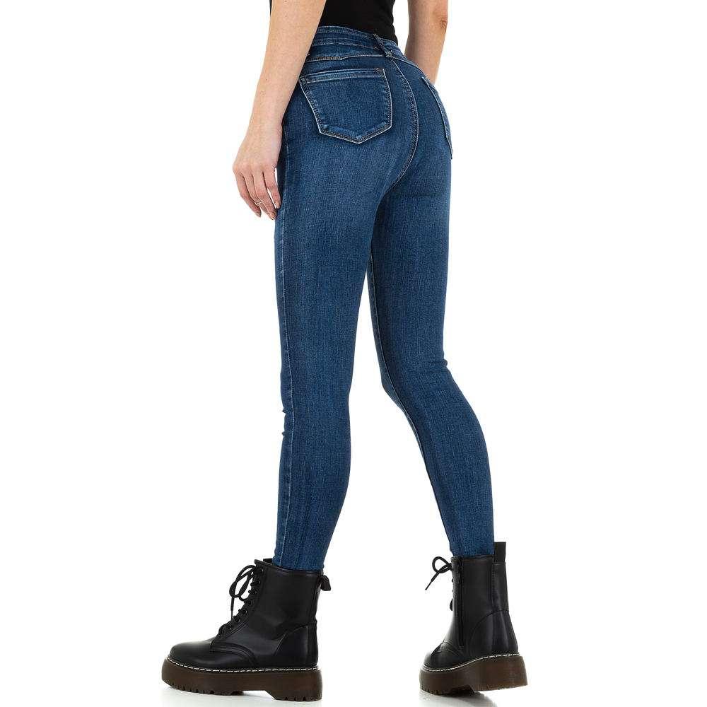 Blugi de dama de la Daysie Jeans - albastru - image 3
