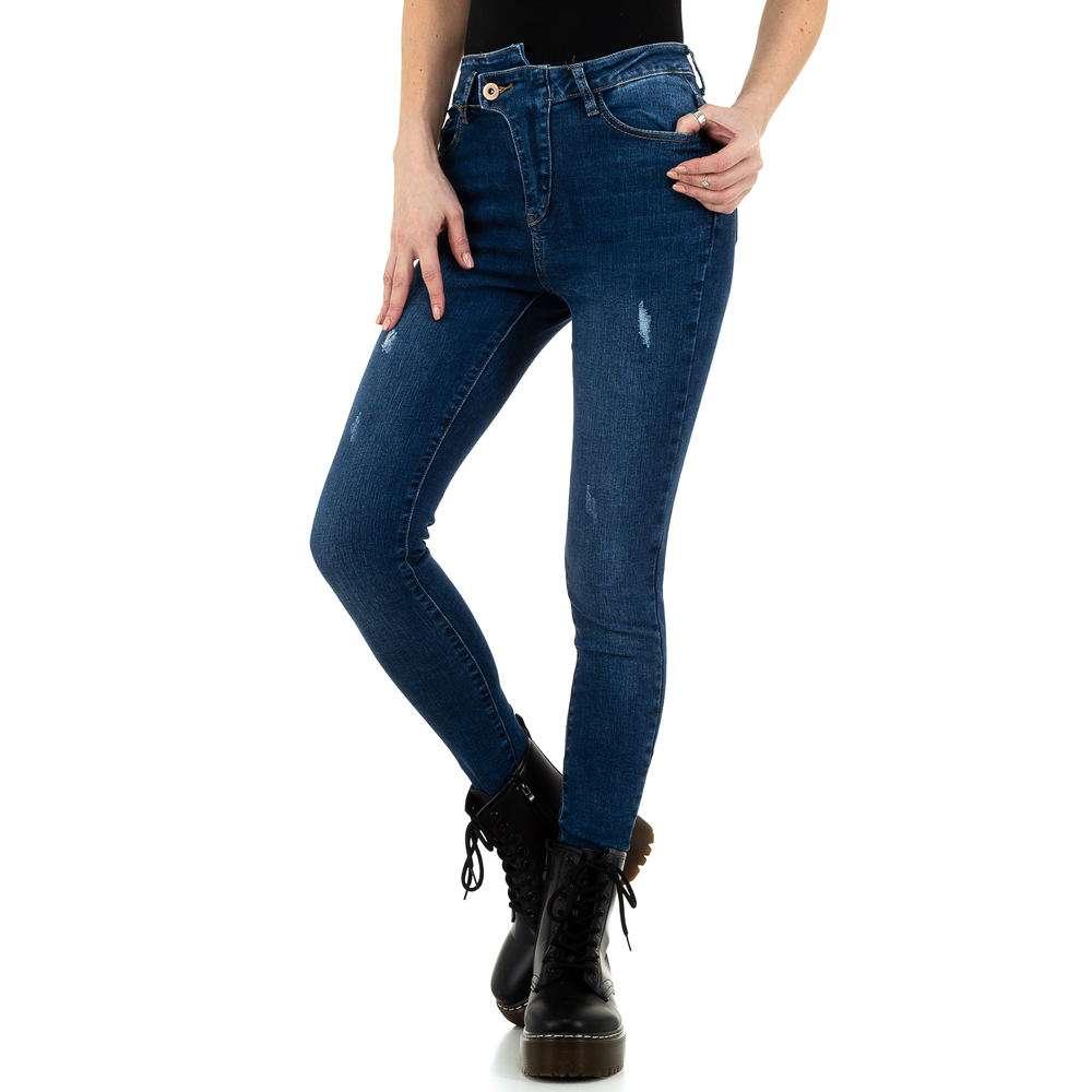 Blugi de dama de la Daysie Jeans - albastru - image 5