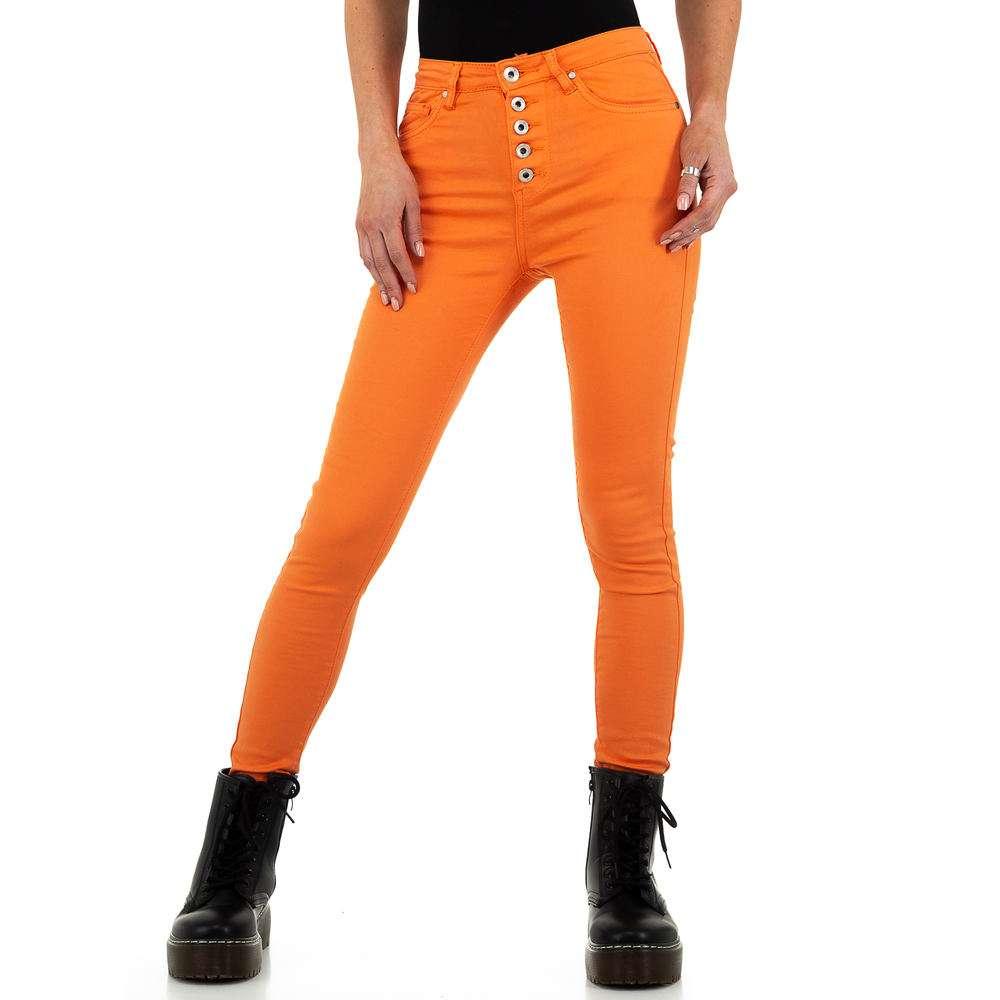Blugi de dama de la Nina Carter - portocaliu - image 1