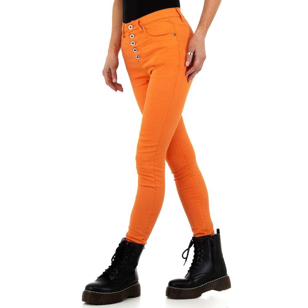 Blugi de dama de la Nina Carter - portocaliu - image 2