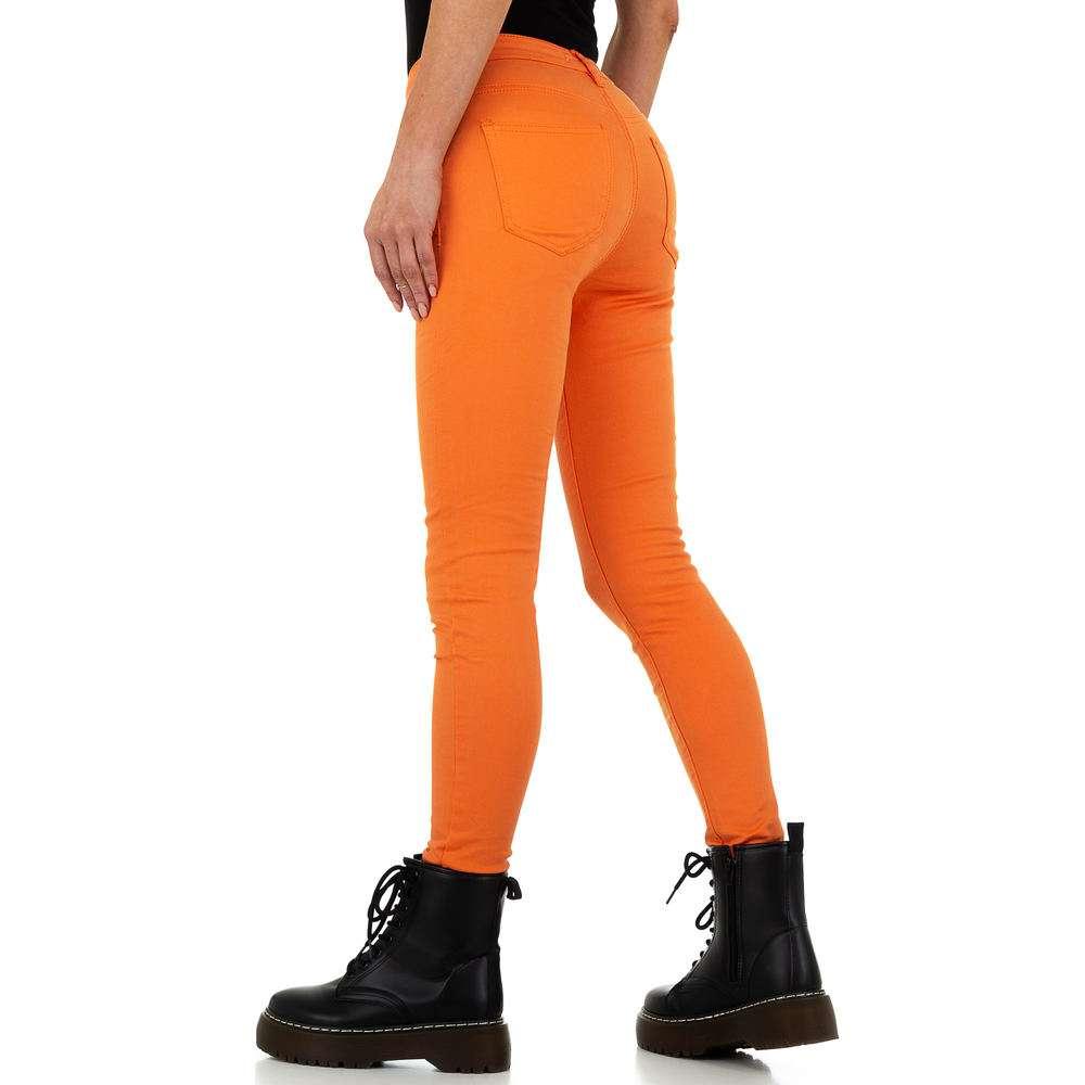 Blugi de dama de la Nina Carter - portocaliu - image 3