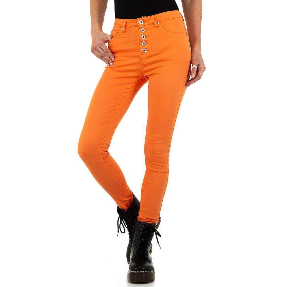 Blugi de dama de la Nina Carter - portocaliu - image 5