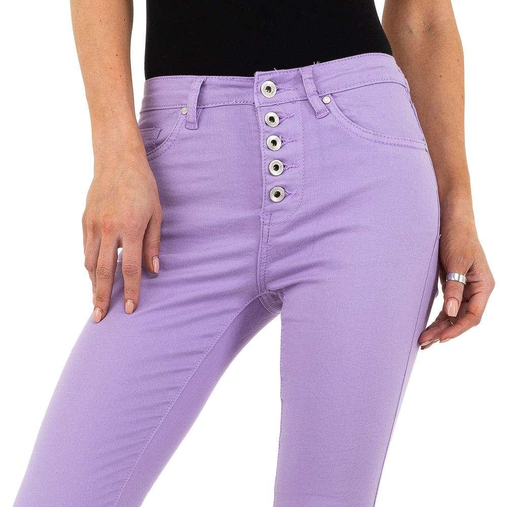 Blugi de damă Nina Carter - violet - image 4
