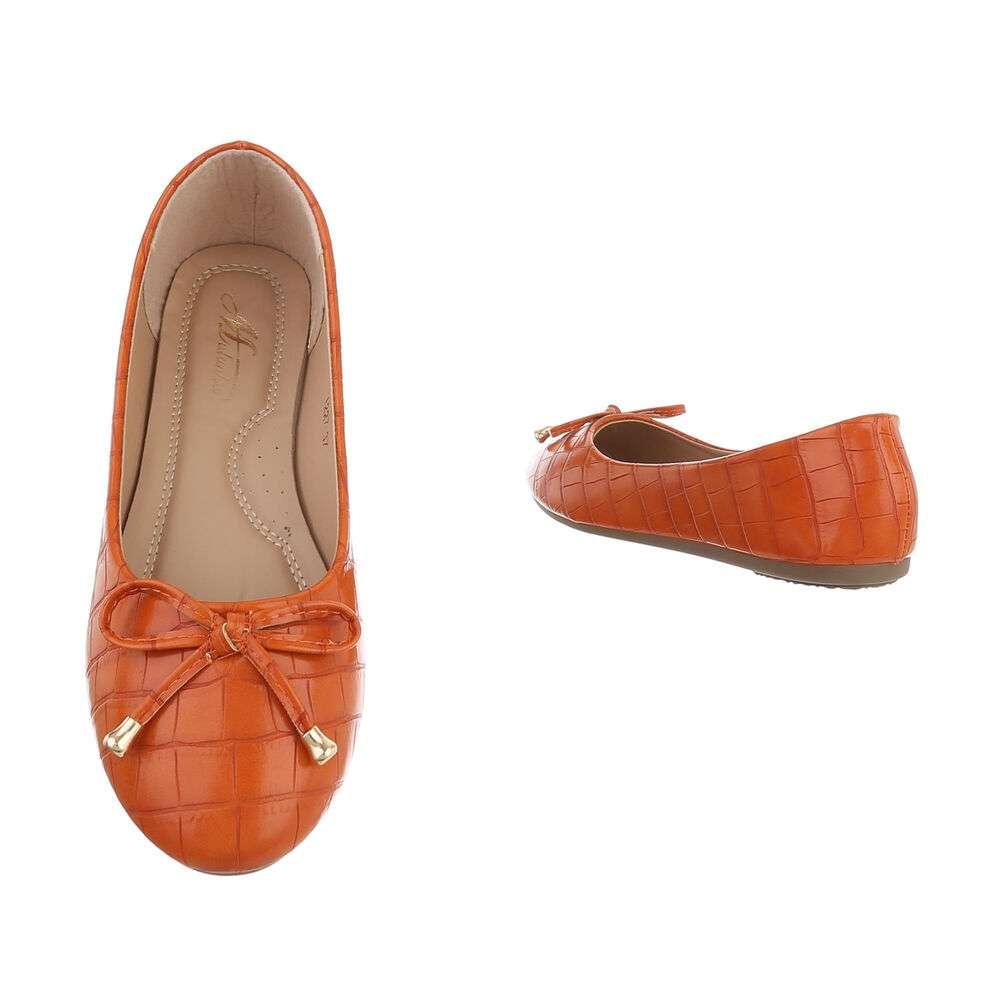Balerini pentru femei - portocalii - image 3