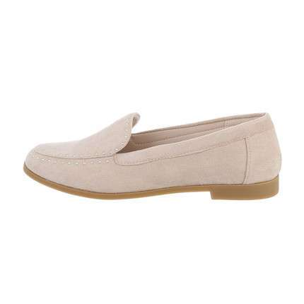 Damen Slipper - beige