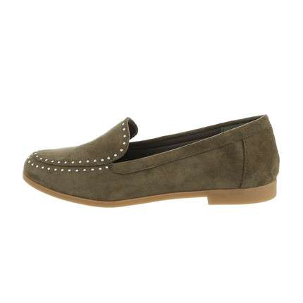 Damen Slipper - green