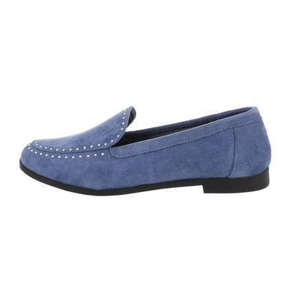 Damen Slipper - jeans