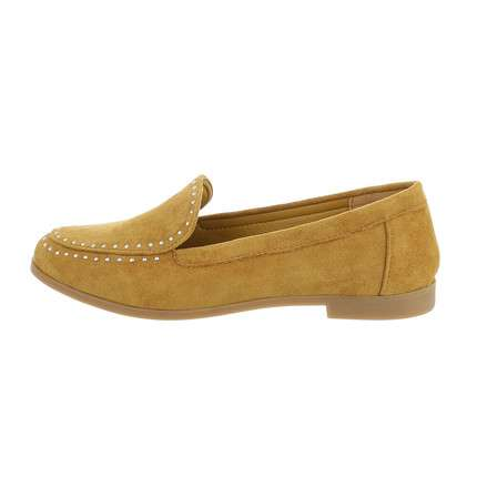 Damen Slipper - yellow