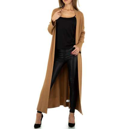 Damen Strickjacke von JCL Gr. One Size - brown