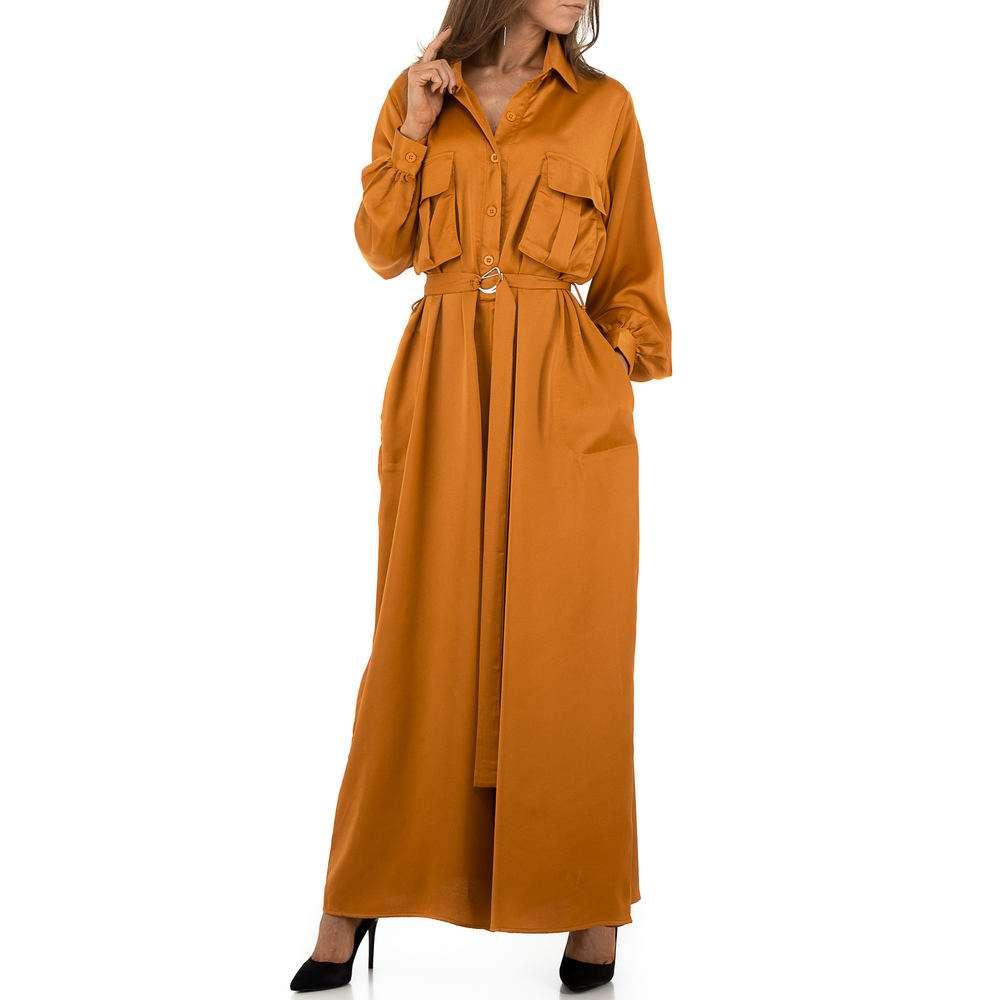 Salopetă pentru femei by JCL - orange