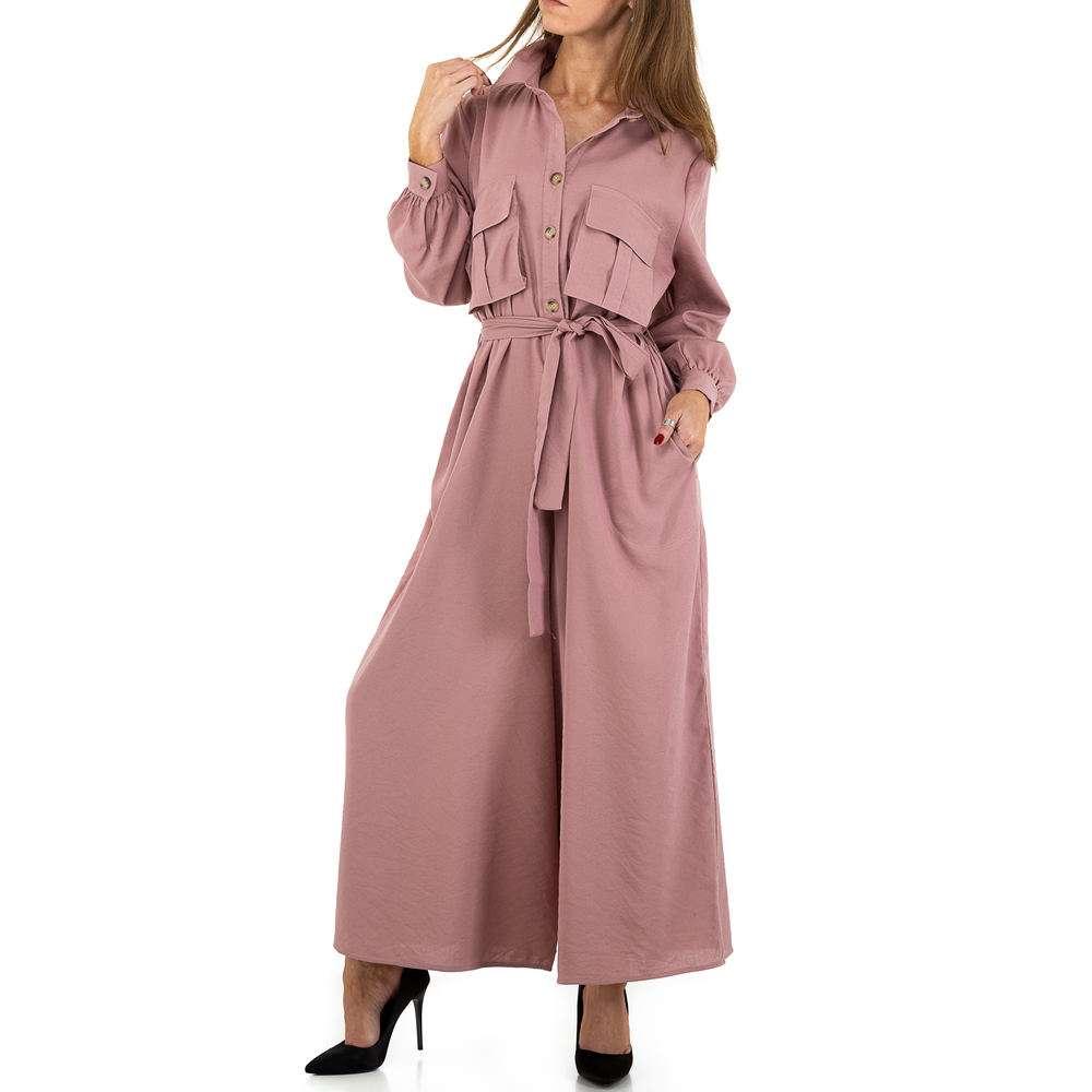 Salopetă pentru femei by JCL - roz