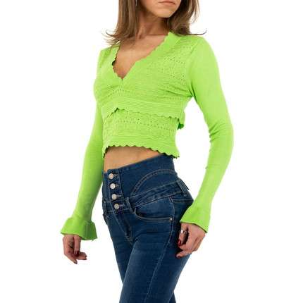 Damen Pullover von Emma&Ashley Design - green