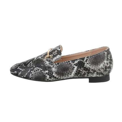Damen Slipper - blacksnake