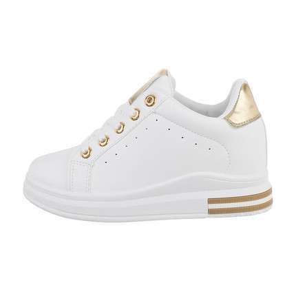 Damen High-Sneakers - whitegold