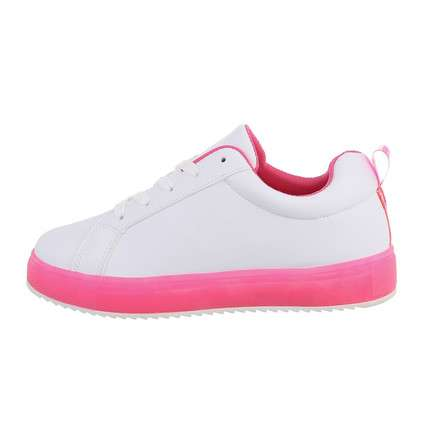 Damen Low-Sneakers - fushia