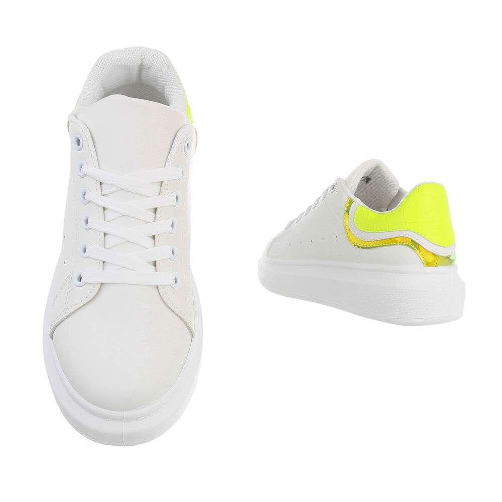 Teniși pentru femei - galbeni - image 3