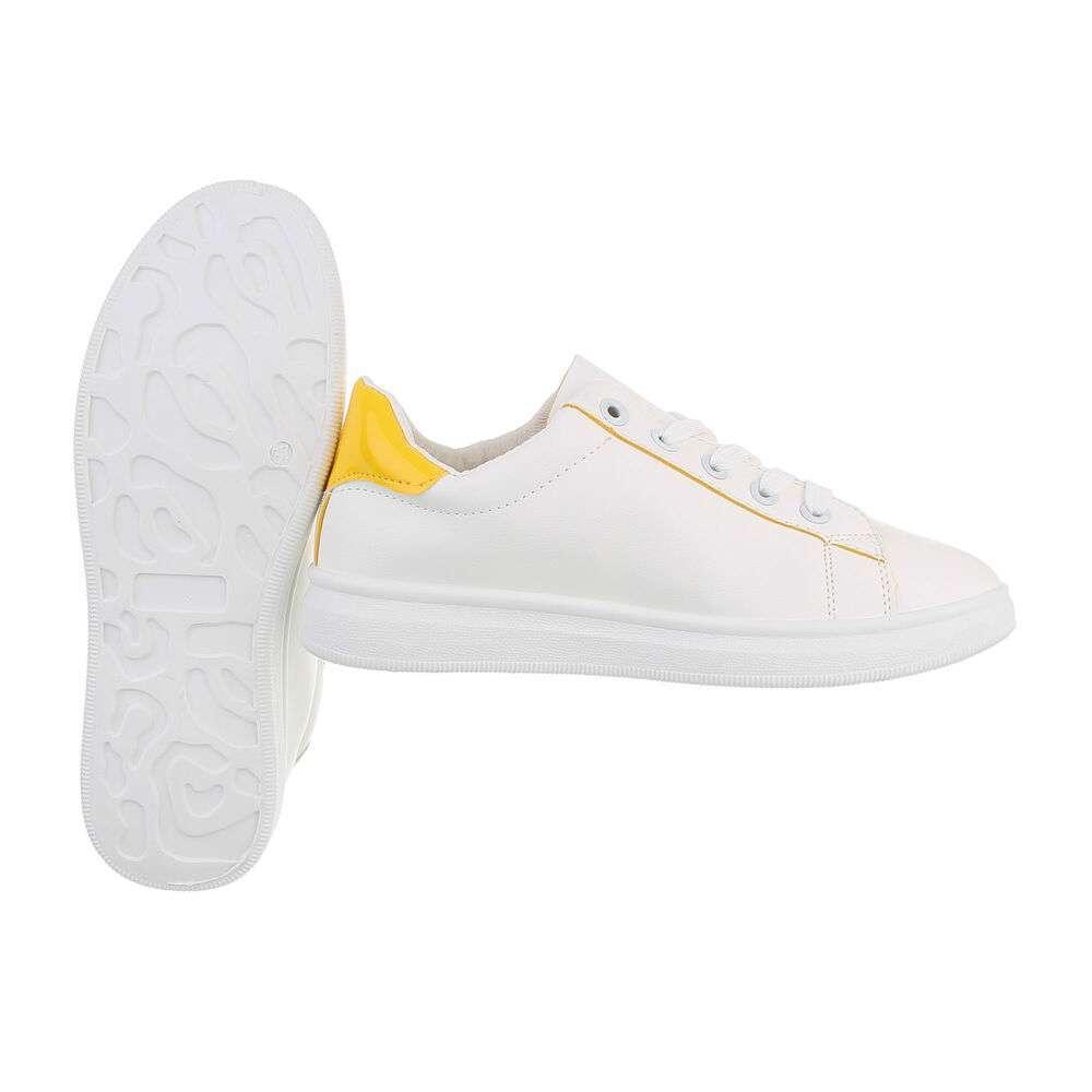 Teniși pentru femei - galbeni - image 2
