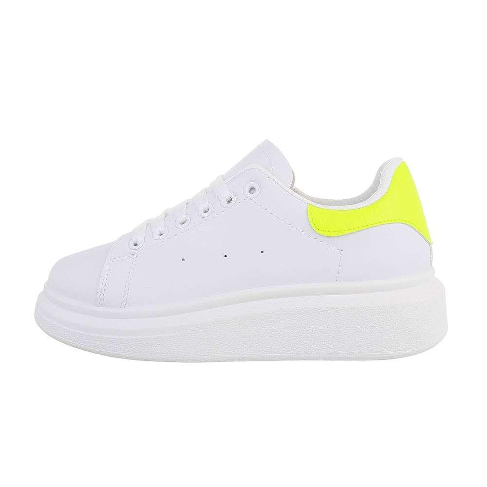 Teniși pentru femei - galbeni