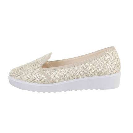 Damen Slipper - white