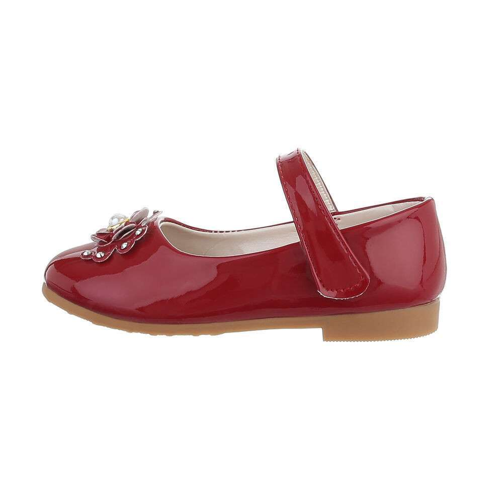 Sandale ortopedice pentru copii - roșii