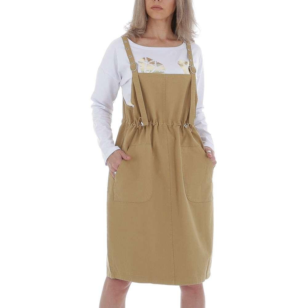 Rochie de damă de către JCL Gr. O singură mărime - bej