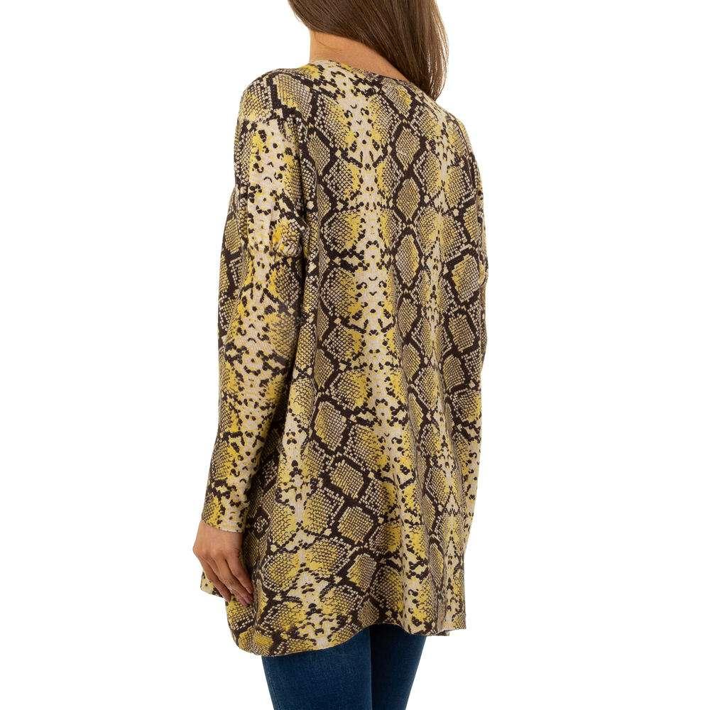 Pulover pentru femei by JCL Gr. O mărime - galben - image 3