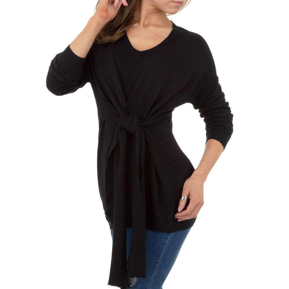 Pulover pentru femei by JCL Gr. O singură mărime - negru - image 4