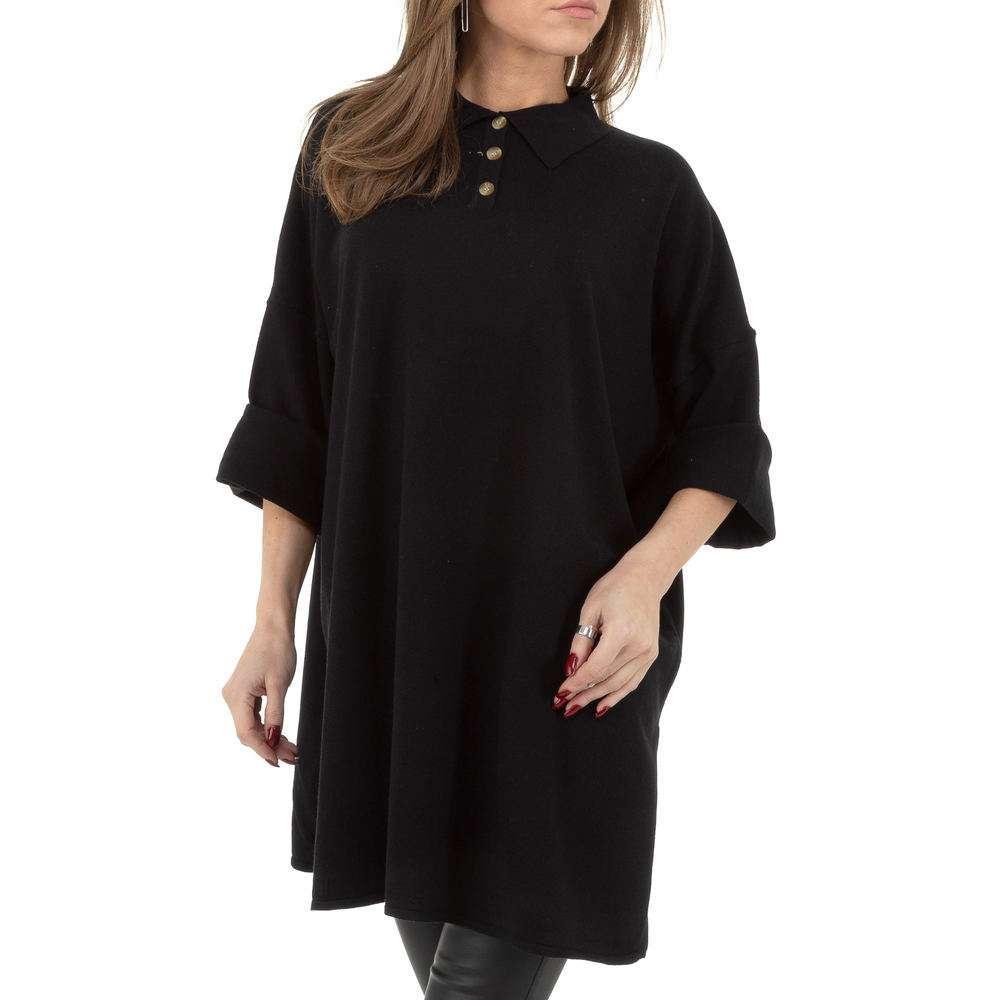 Pulover pentru femei by JCL - negru