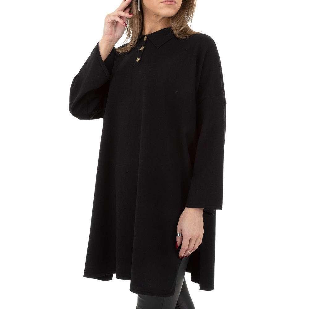 Pulover pentru femei by JCL - negru - image 2