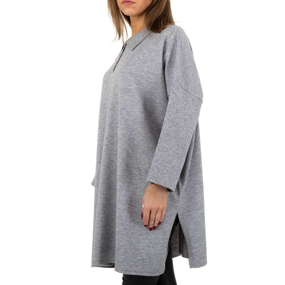 Pulover pentru femei by JCL - gri - image 2