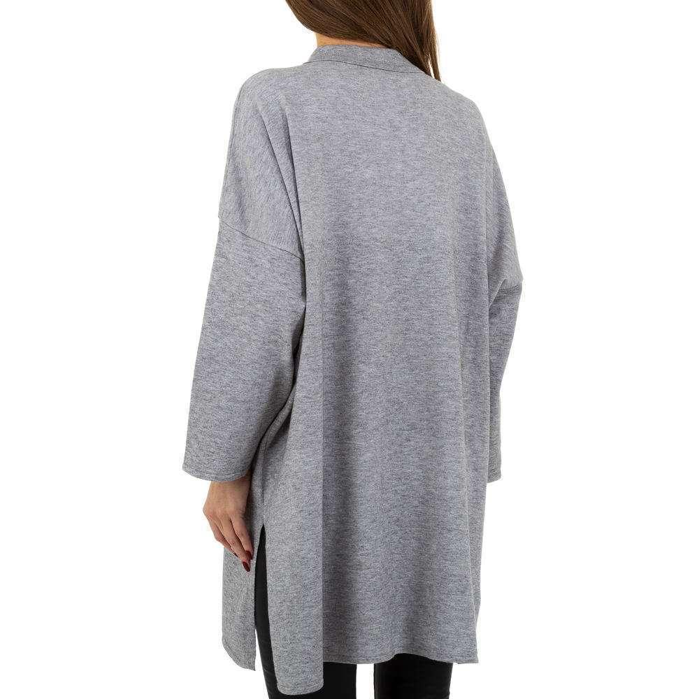 Pulover pentru femei by JCL - gri - image 3