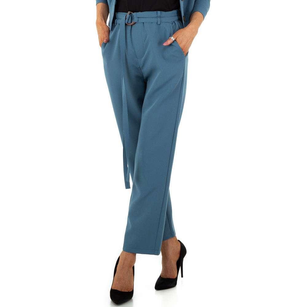 Pantaloni de dama de la JCL - albastru